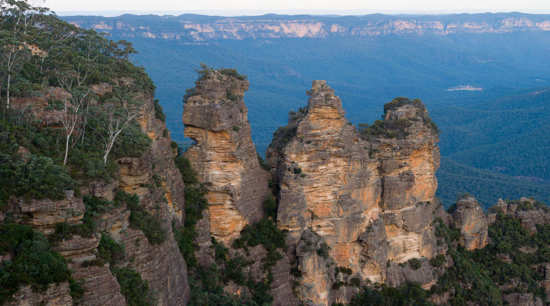Blue-Mountains -Three sisters